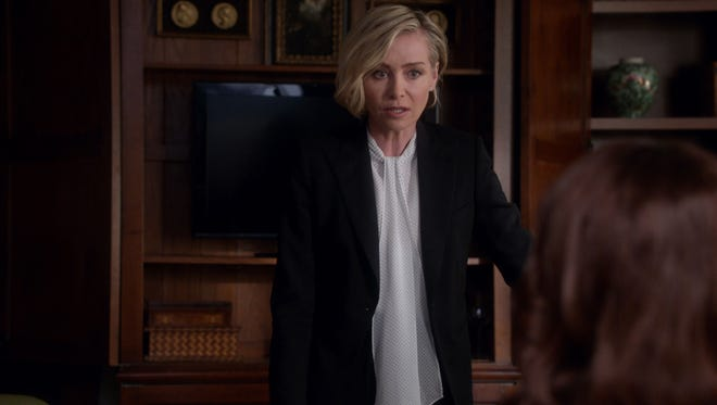 Elizabeth North (Portia de Rossi) is a powerhouse in the Washington political circles of ABC's 'Scandal.'