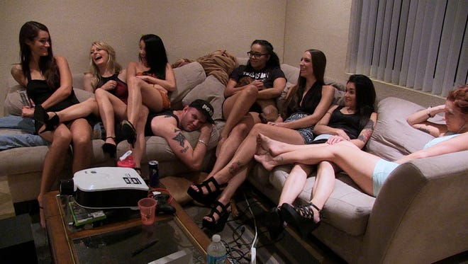 "A scene from the documentary ""Hot Girls Wanted."""