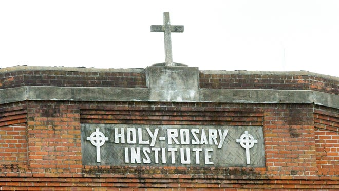 The historic Holy Rosary institute receives $450,000 from the National Park Service. Rehab Funding. Wednesday, Jan. 18, 2017.