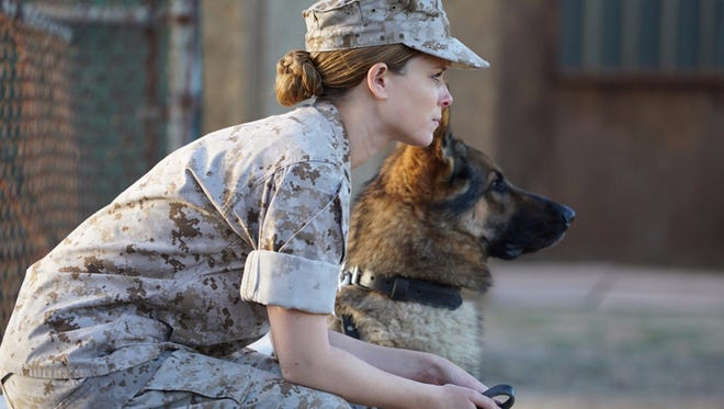 """Kate Mara stars as Megan Leavey in """"Megan Leavey."""" The movie opens Thursday at Regal West Manchester Stadium 13 and R/C Hanover Movies."""