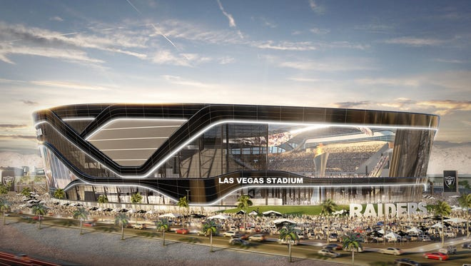 The Raiders are getting a new stadium in Las Vegas that includes $750 million in public funding through tax-exempt bonds. It's unclear how proposed tax reform would affect the financing there.