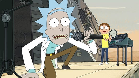 Having 'Rick and Morty' in 'Justice League' was director