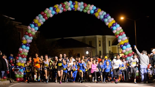 The Camellia Crossing Gleaux Run presented by Miles Perret Cancer Services will take place Wednesday.