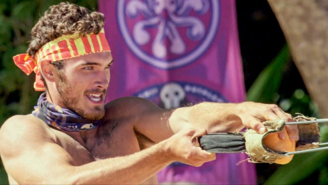 "Knoxville native Michael Yerger on ""Survivor: Ghost Island."""