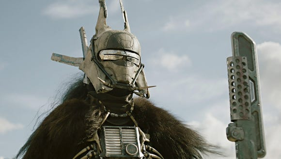 Who is that masked woman? Enfys Nest (Erin Kellyman)