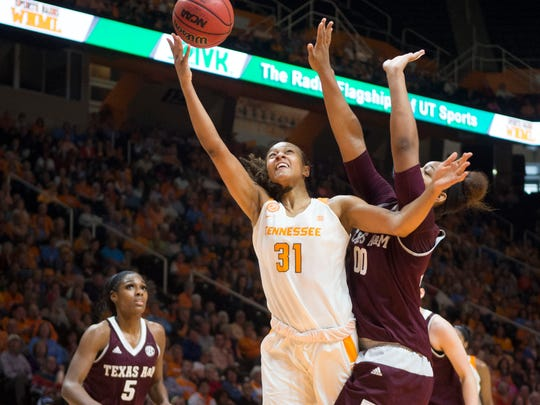 It's not a reach to say Tennessee's Jaime Nared (31)