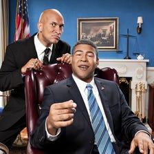 "Keegan-Michael Key and Jordan Peele on Comedy Central's ""Key & Peele."""