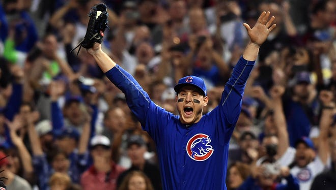 Anthony Rizzo won his first Gold Glove Award.