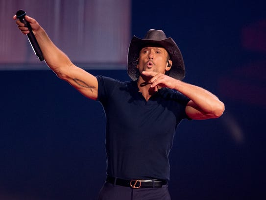 Tim McGraw says it's time to at least look at banning assault weapons.
