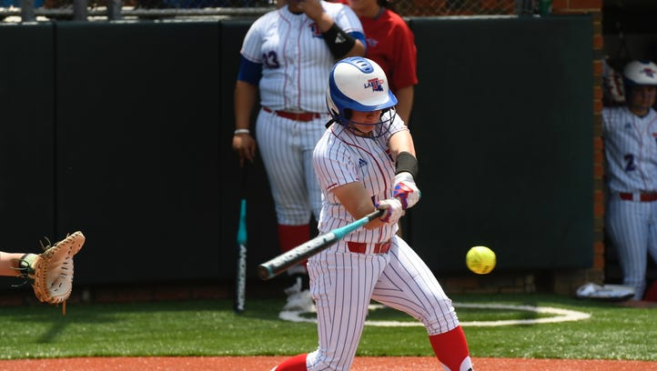 Lady Techsters lose win streak at 13 games, split DH with UAB