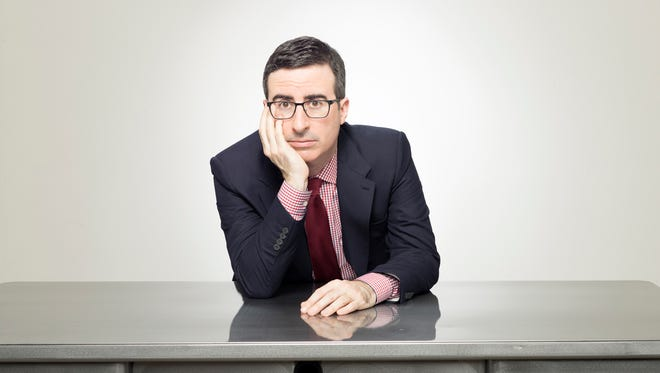 "John Oliver, host of ""Last Week Tonight with John Oliver,"" on HBO."