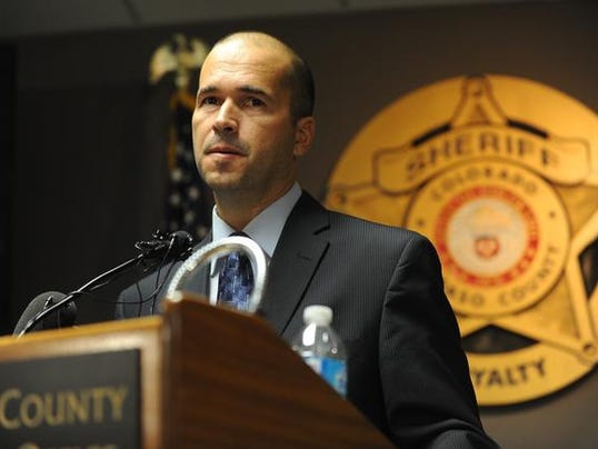 El Paso County Sherif Holds News Conference on Black Forest Fire