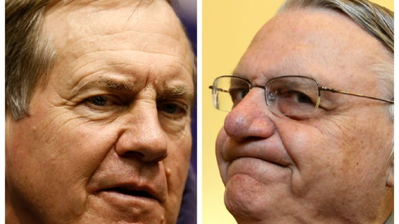 Sheriff Joe is our Belichick. So, who's our 'beast