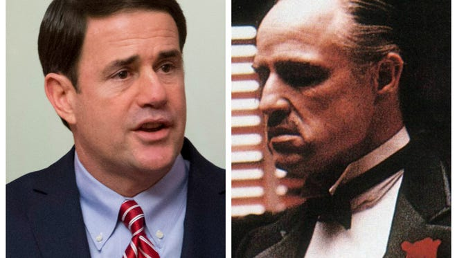 Gov. Doug Ducey and his ... doppelganger?