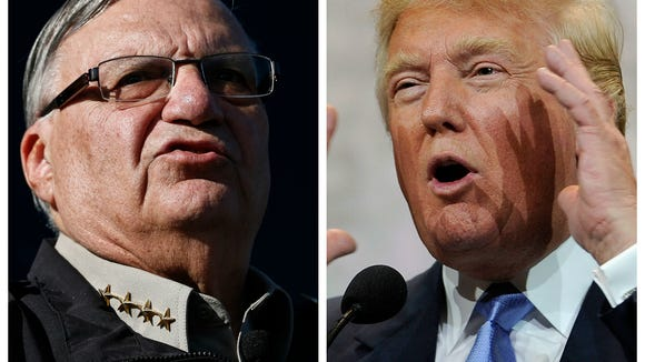 Trump and Arpaio. A dream presidential ticket or a