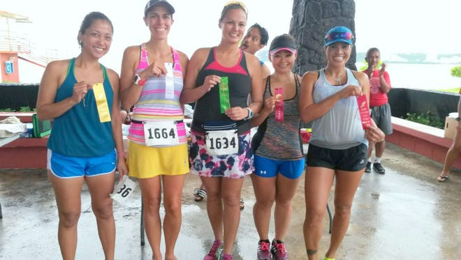 Runners had fun in the sun and rain at the 43rd annual Guam Running Club Tumon Bay 5.5 mile run