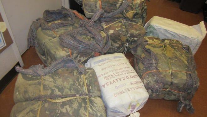 Pinal County Seizes 318 Pounds of Marijuana