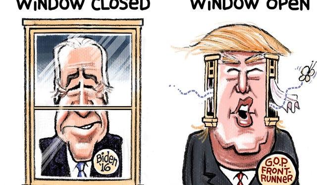Steve Sack, The Minneapolis Star Tribune, drew this Desert Sun editorial cartoon for Oct. 25, 2015.