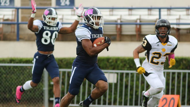 JSU receiver Devin Fosselman looks to continue his strong play this season against MVSU on Saturday.