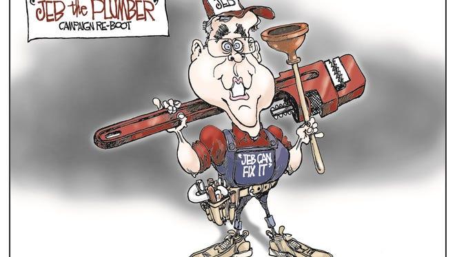 Bill Day, Cagle Cartoons, drew this Desert Sun editorial cartoon for Nov. 5, 2015.