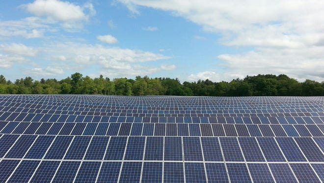 Allen Harim Foods will purchase about 2.3 million kilowatts of power a year from a new solar field under construction near its Harbeson processing plant.