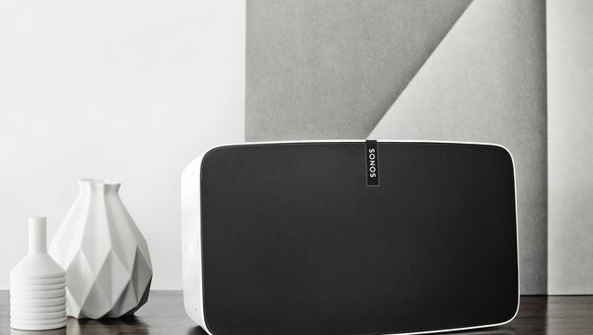 The new Sonos PLAY:5 soundsystem.