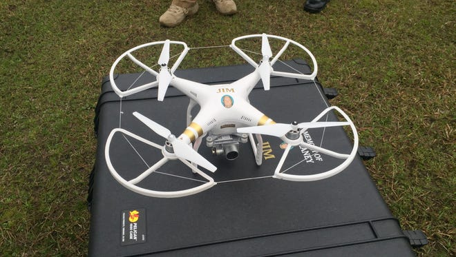 A drone, named Jim, was purchased for the Grant Parish Sheriff's Office with help from the Delaney family. Jim Delaney went missing in February 2012, and his family hopes the drone might help the sheriff's office search for and find others.