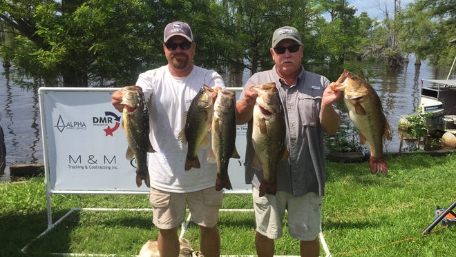 Jeremy Botica and Rickey Lee won the Skeeter Trail event of H&W Marine Saturday on Lake Bistineau.