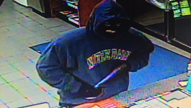 Anyone with information about the robbery is asked to call (810) 364-6300.