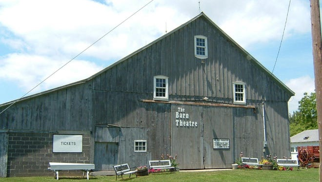 The exterior of the Barn Theatre in Port Sanilac.