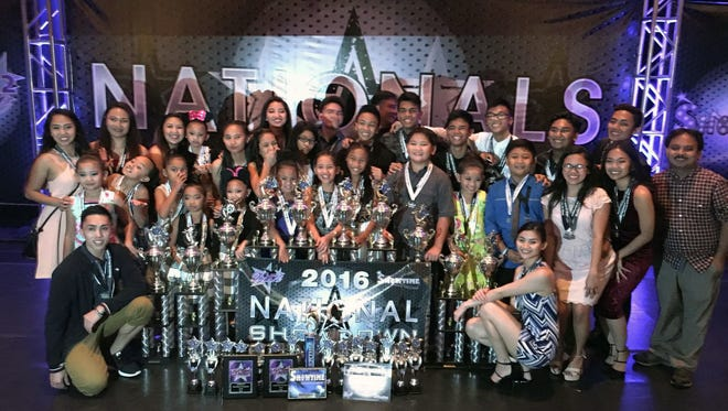 The Stargazers Dance Troupe were the National Champions at the Luv 2 Dance competition held in Orlando June 28 to July 2.