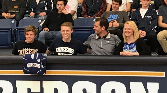 Roberson senior Oliver Porter has signed to compete for the Queens triathlon program.