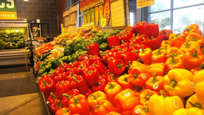 Check out colorful veggies around the world at local markets for inexpensive, tasty, local fare.