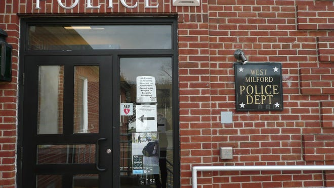 West Milford Police Department headquarters as seen on Nov. 23, 2017.