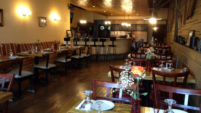The dining room of Hakki Baba in Cliffside Park