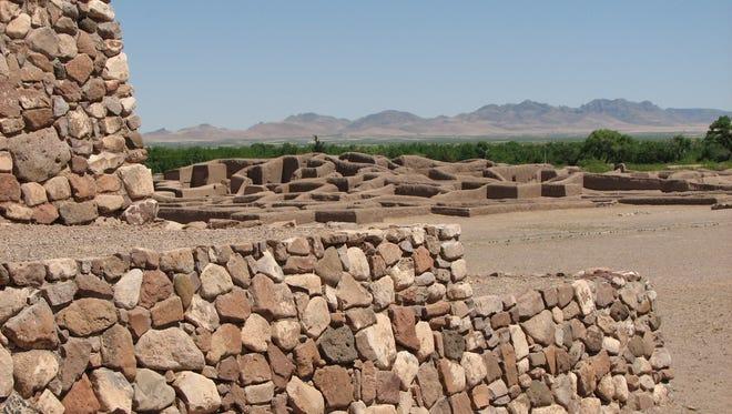 Paquime ruins in Casas Grandes, Chihuahua, Mexico.