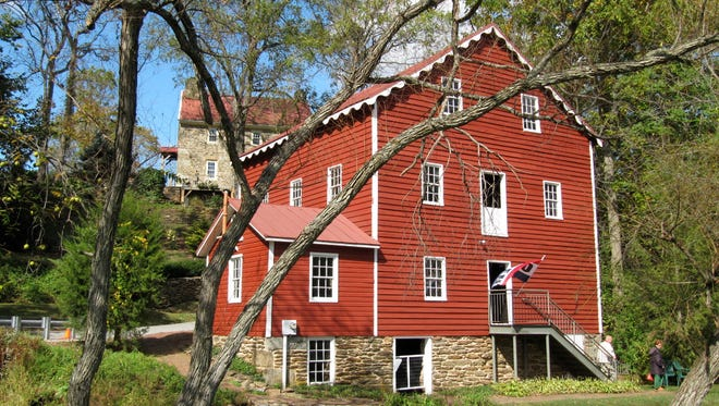 The Wallace-Cross Mill will be part of an open house weekend for mills in the region June 11-2.