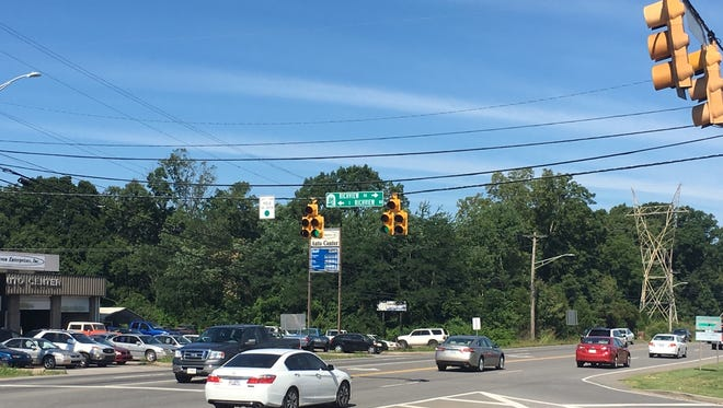 One end of the Madison Street paving project will be where the road intersects with Richview Road, TDOT says.