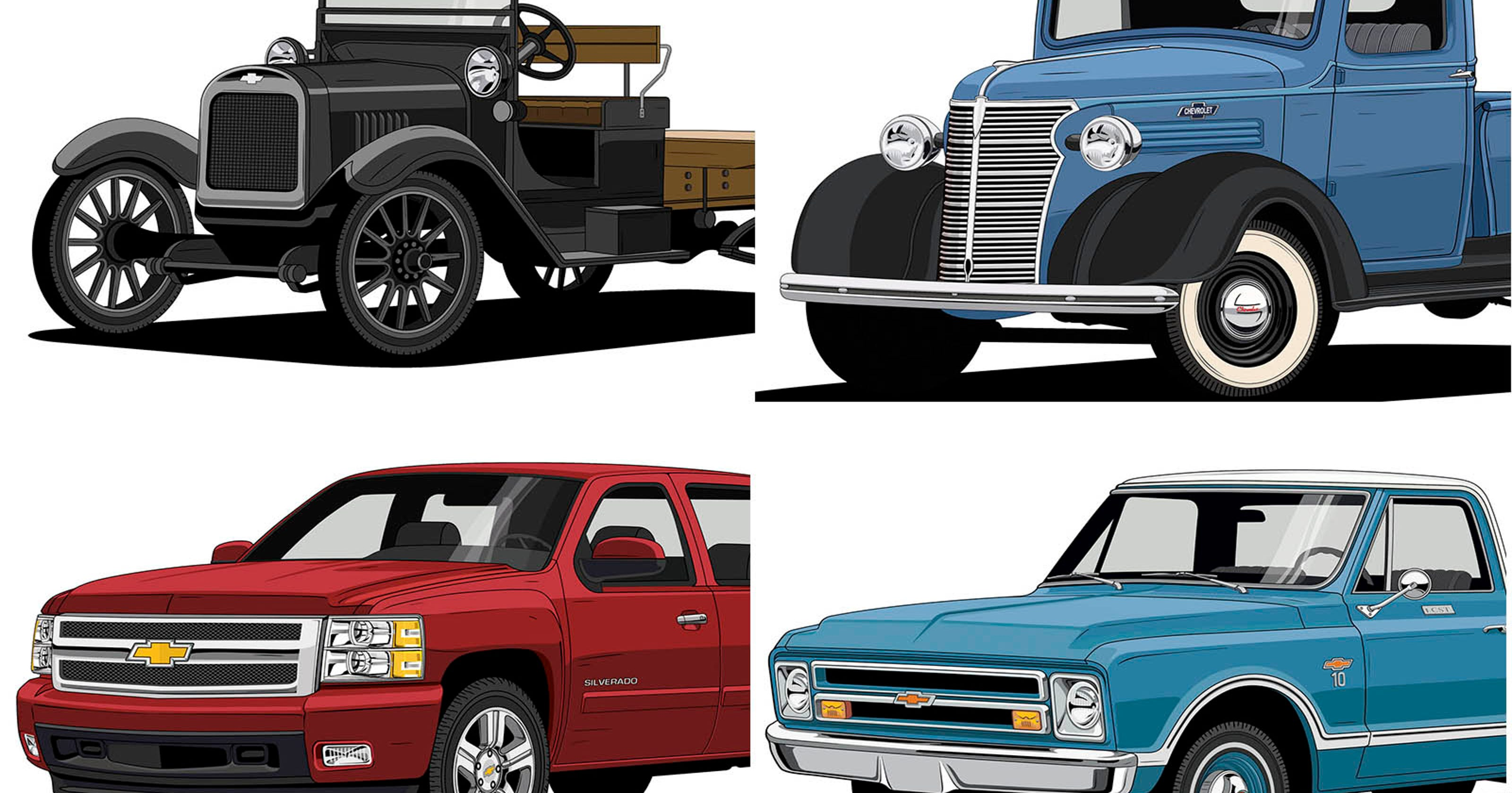 Chevy Trucks Celebrate 100 Years Shaping How Americans Work And Travel C10 Suburban For Sale