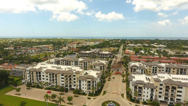 Upon completion, Naples Square will include four residential buildings withapproximately 300 residences.