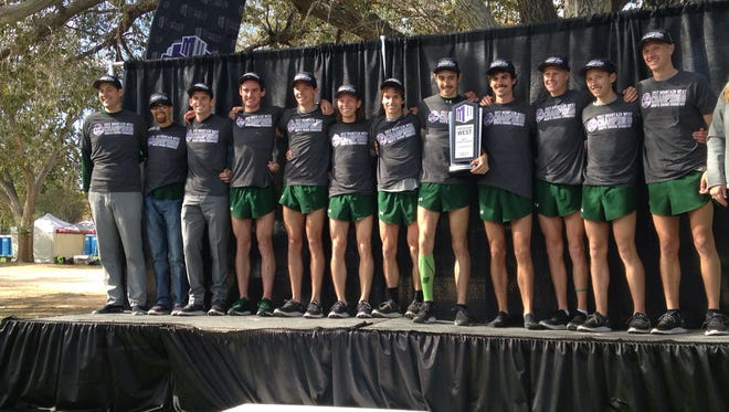 The CSU men's cross-country team won the Mountain West title for the first time in school history Friday.