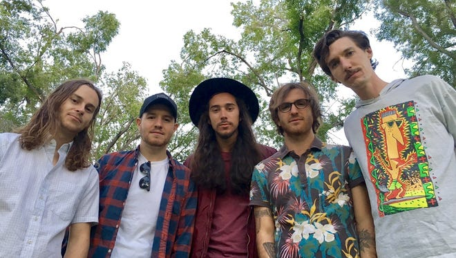 """""""HoneyMoon Phase"""" by local band Dankjewel, with singer-songwriter Davey Alastair (second from right), was the top-ranking song in the Gazette Journal's 2016 annual music roundup. Submissions are being accepted for the 2017 contest."""