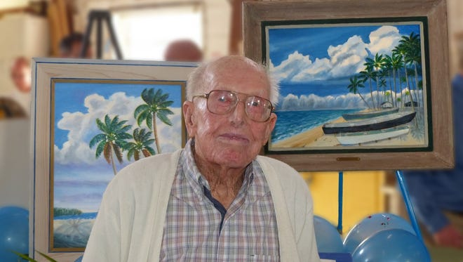 """Curt Whiticar: 106 Years of Life and Art,"" featuring original works by the late Whiticar, will be on display at Molly's House from 5:30 p.m. to 7:30 p.m. Dec. 7. The exhibit will remain up through March 2018."