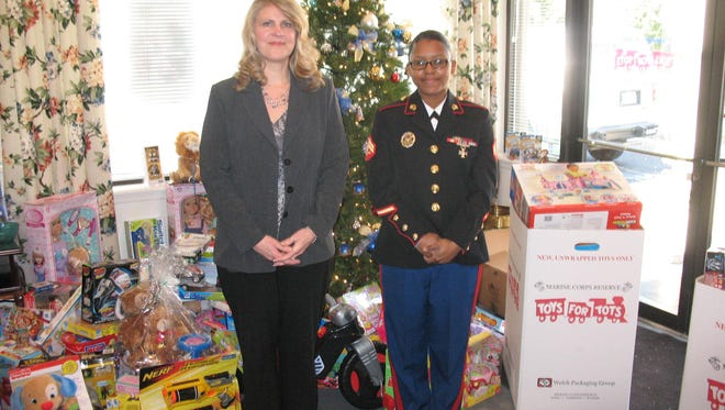 The Flemington office of Coldwell Banker is collecting toy donations for Toys for Tots through Dec. 15.