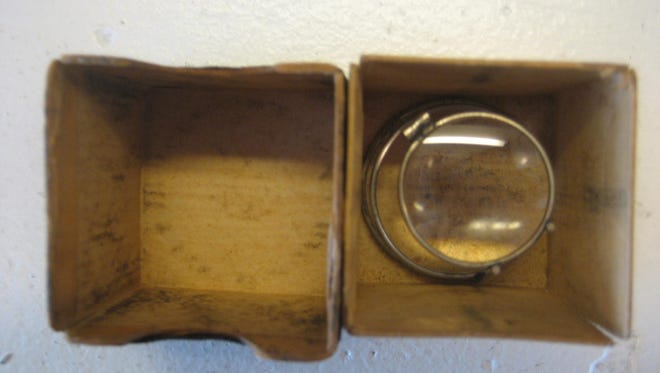The Smith Jewelry Co.'s original loupe, used in Stuart in the 1920s.