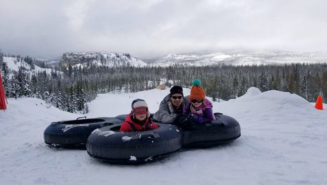 The Autobahn Tubing Park at Hoodoo Ski Area is geared toward kids. Hoodoo will be open all week through April 1 and then will resume a Thursday-Sunday schedule through at least April 22.