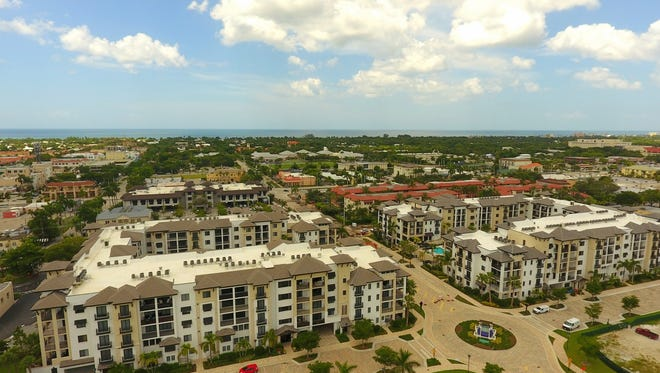 Seven of the Phase III residences at Naples Square featuring the Chatham floor plan remain available for purchase.