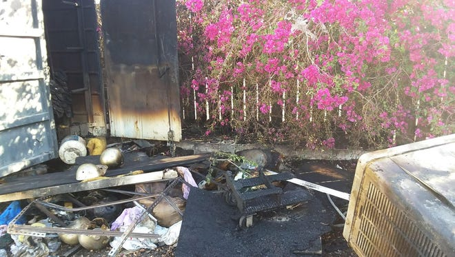 The Coachella Valley Junior Raiders are having a rocky start to their season after a structure fire on Monday incinerated all the team's gear.