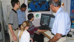 The late FSU meteorology professor T.N. Krishnamurti,
