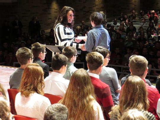 Port Clinton Middle School Principal Carrie Sanchez